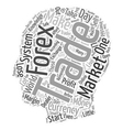 Forex A Snappy Way To Make Serious Bucks text vector image vector image