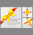 gifts and presents for everyone wrapping boxes vector image vector image
