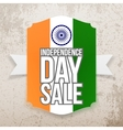India Independence Day Sale Tag vector image vector image