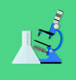 scientific experiment concept vector image