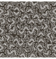 scroll vintage decoration monochrome pattern vector image