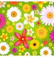 Summer Flowers vector image vector image