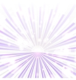 Trendy purple rays vector image vector image