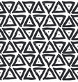 triangle ink brush decoration seamless pattern vector image