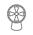 air fan ventilation vector image vector image