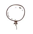 Hand Drawn Balloon vector image vector image
