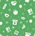New Year party pattern vector image vector image