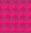 red stars pattern vector image vector image