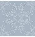 Vintage blue pattern background vector image vector image