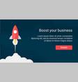 website header design vector image vector image