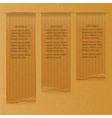 brownpaper infographic background vector image