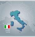italy information map vector image