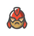 ancient gladiator helmet icon cartoon vector image vector image