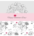 Background ornamental round with peonies vector image