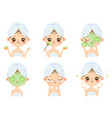 beauty face mask woman skin care cleaning