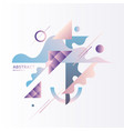 elegant composition with dynamic and geometric vector image