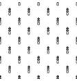 metal zip icon simple style vector image vector image