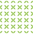 Seamless pattern background of green leafs vector image vector image