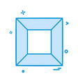 shapes icon design vector image