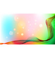 abstract waves on a colored background vector image vector image