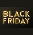 black friday sale background discount item vector image vector image