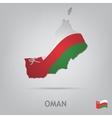 country oman vector image