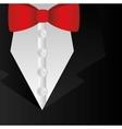 elegant dress male background vector image