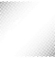 halftone abstract background vector image vector image