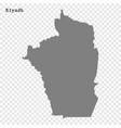 high quality map is a region saudi arabia vector image