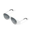 Isometric 3d of aviator glasses vector image