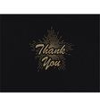 retro emblem as a sign of gratitude vector image
