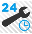 Service Hours Icon vector image vector image