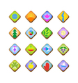 web and computing icons for various needs vector image vector image