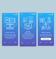 affiliate marketing blue onboarding mobile app