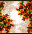 autumn background maple leaves colofrul image vector image vector image