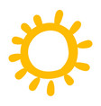 baby yellow sun funny cartoon picture icon