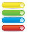 Button Bars vector image