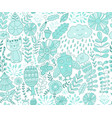 forest design floral seamless pattern with vector image vector image