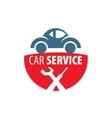 logo car vector image vector image