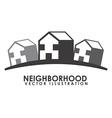 neighborhood vector image vector image