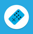 remote icon colored symbol premium quality vector image vector image