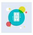 sync synchronization data phone smartphone white vector image