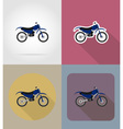 transport flat icons 66 vector image