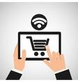 E-commerce online wifi icon