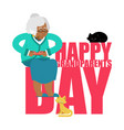 grandparents day day of grandmother and vector image vector image