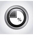 pie statistics design vector image