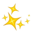 Star icon cartoon style vector image