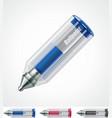 ballpoint pen icon vector image vector image