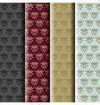 damask pattern collection vector image