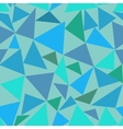 Triangle pastel seamless pattern vector image vector image
